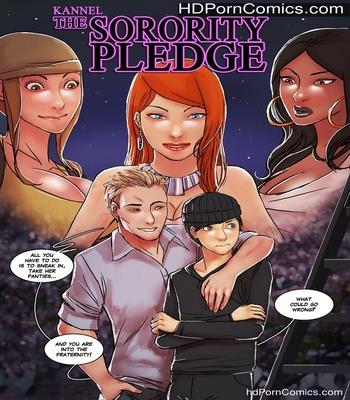 Porn Comics - The Sorority Pledge Sex Comic