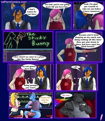 The Sticky Bunny 2 free sex comic