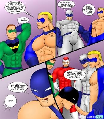 The Super Studs 2 Sex Comic