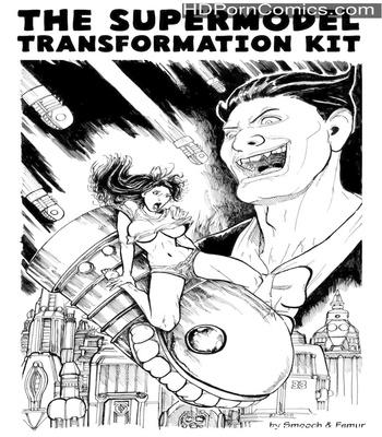Porn Comics - The Supermodel Transformation Kit Sex Comic