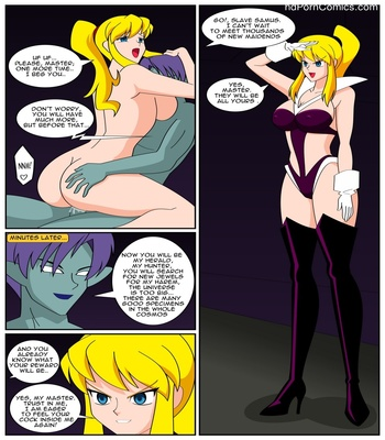 The Target Is Samus Aran Sex Comic