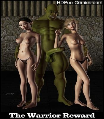 Porn Comics - The Warrior Reward Sex Comic