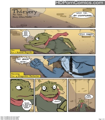 Porn Comics - Thievery 1 Sex Comic