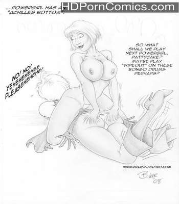 Thong Girl Meets Power Girl 21 free sex comic