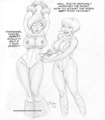 Thong Girl Meets Power Girl 25 free sex comic