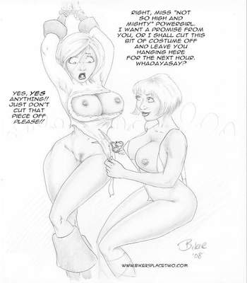 Thong Girl Meets Power Girl 28 free sex comic