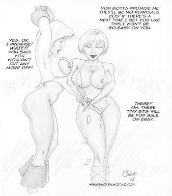 Thong Girl Meets Power Girl 29 free sex comic