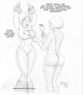 Thong Girl Meets Power Girl 33 free sex comic