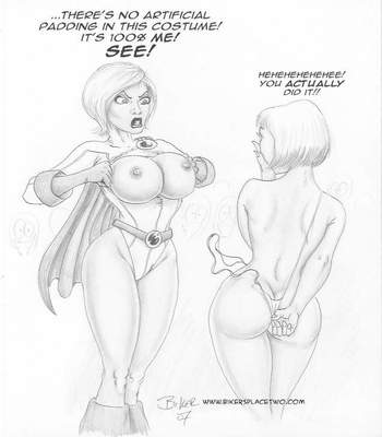 Thong Girl Meets Power Girl 5 free sex comic