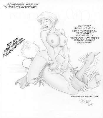 Thong Girl Meets Power Girl 9 free sex comic