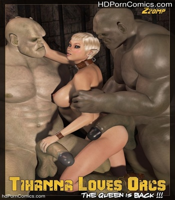 Porn Comics - Tihanna Loves Orcs 2 Sex Comic