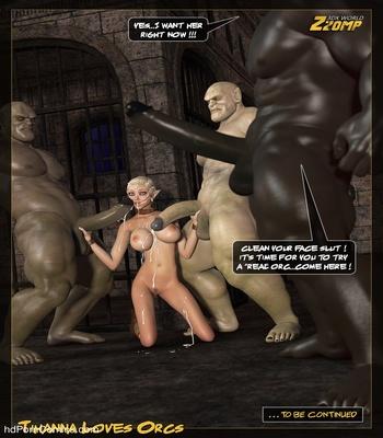 Tihanna Loves Orcs 2 Sex Comic