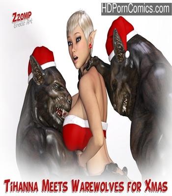Porn Comics - Tihanna Meets Warewolves For Xmas Sex Comic