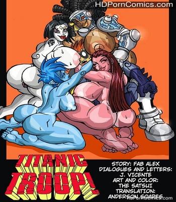 Porn Comics - Titanic Troop 1 Sex Comic