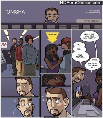 Porn Comics - Tonisha Sex Comic