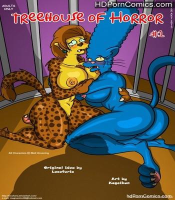 Porn Comics - Treehouse Of Horror 1 Sex Comic