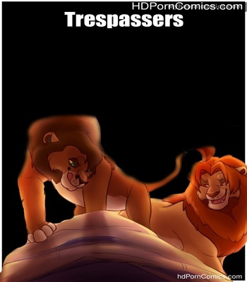 Porn Comics - Trespassers Sex Comic