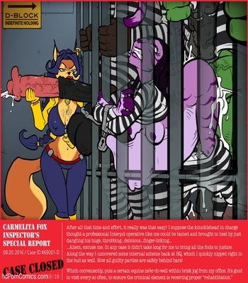 Undercover Foxx Sex Comic