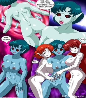 Vampires Of The Night 5 Sex Comic