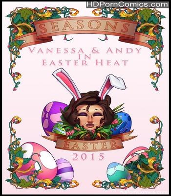 Porn Comics - Vanessa & Andy In Easter Heat Sex Comic