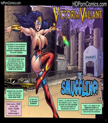 Porn Comics - Victoria Valiant – The Smuggling Sex Comic