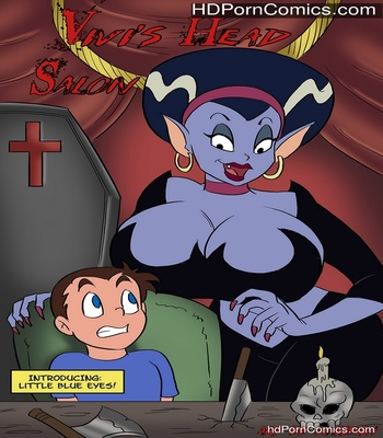Porn Comics - Vivi's Head Salon Sex Comic