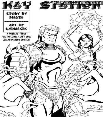 Porn Comics - Way Station – Fantasy Story free Porn Comic