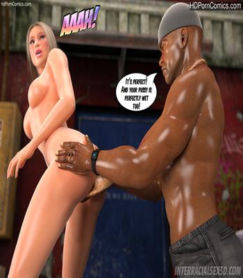White Slut In Da Hood free Cartoon Porn Comic sex 21