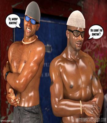 White Slut In Da Hood free Cartoon Porn Comic sex 5