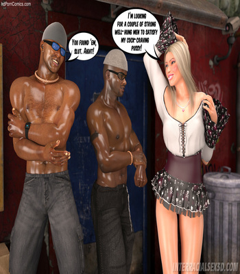 White Slut In Da Hood free Cartoon Porn Comic sex 6