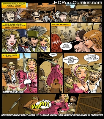 Porn Comics - Wild Wild West Sex Comic