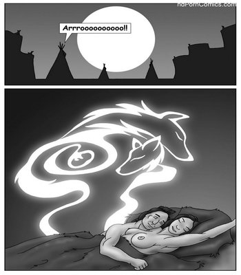 Wolf Spirits Sex Comic