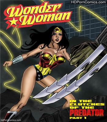 Porn Comics - Wonder Woman vs Predator – Part 1-3 free Cartoon Porn Comic