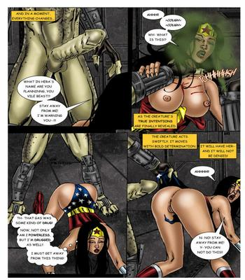 Wonder Woman vs Predator – Part 1-320 free sex comic