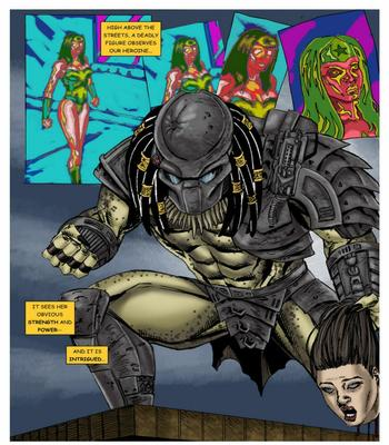 Wonder Woman vs Predator – Part 1-36 free sex comic