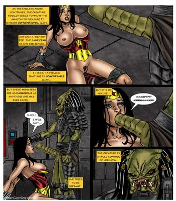 Wonder Woman vs Predator – Part 1-368 free sex comic