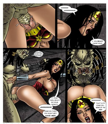 Wonder Woman - In The Clutches Of The Predator 1 15 free sex comic