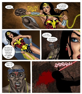 Wonder Woman - In The Clutches Of The Predator 1 7 free sex comic
