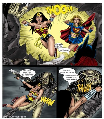 Wonder Woman - In The Clutches Of The Predator 2 22 free sex comic