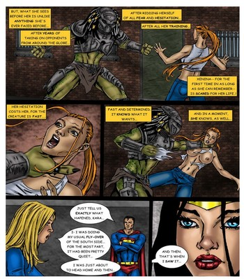 Wonder Woman - In The Clutches Of The Predator 2 7 free sex comic