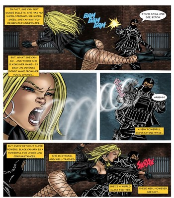 Wonder Woman - In The Clutches Of The Predator 3 3 free sex comic