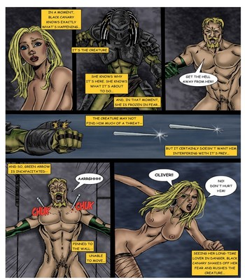 Wonder Woman - In The Clutches Of The Predator 3 9 free sex comic