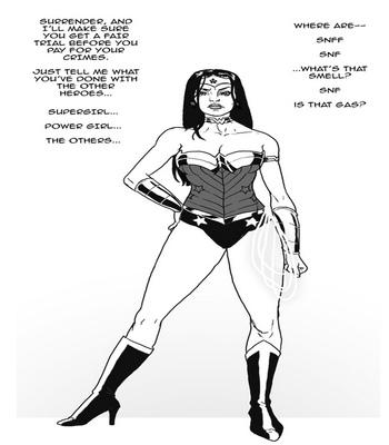 Wonder Woman VS The Bimbo Toxin 3 free sex comic