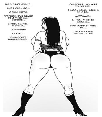 Wonder Woman VS The Bimbo Toxin 5 free sex comic