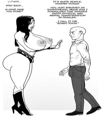 Wonder Woman VS The Bimbo Toxin 6 free sex comic