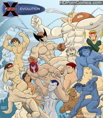 Porn Comics - X-Men Evoloution Sex Comic