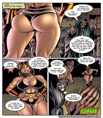 Xera Amazon Princess – The Terror Of Morghantos The Wizard Sex Comic