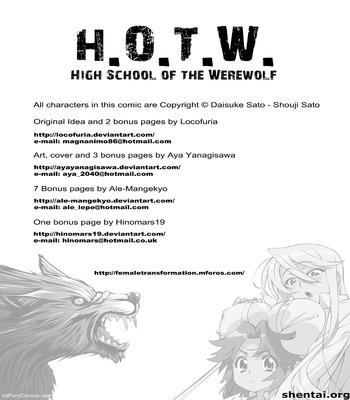 Xxx Comics-High School of the Werewolf 1 free Porn Comic sex 2