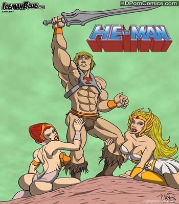 Porn Comics - Xxx Comics-IcemanBlue- He-Man free Porn Comic