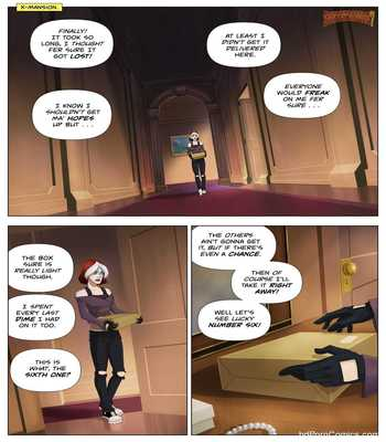 Xxx comic- WARVEL- Rogue Lust Powerslave2 free sex comic